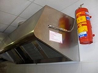orfeo syst me d 39 extinction automatique d 39 incendie dans les cuisines avec sprinkler. Black Bedroom Furniture Sets. Home Design Ideas