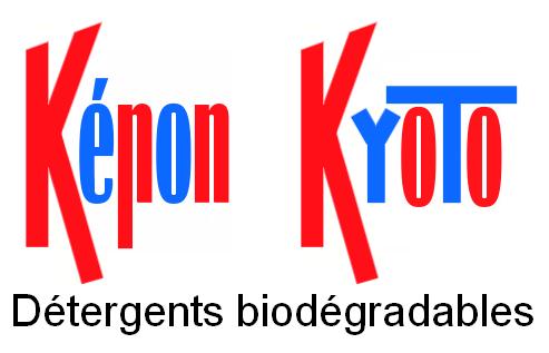 Képon et Kyoto, détergents biodégradables
