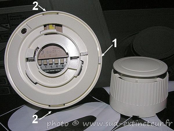Siemens cerberus guinard d tecteur ionique de fum e f905 for Chambre d ionisation