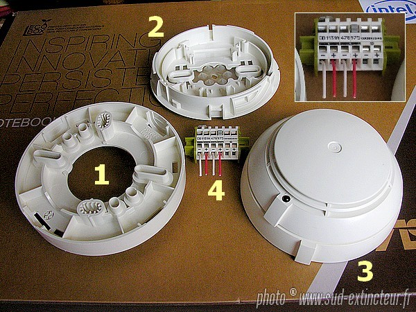 detecteur de fumee autonome siemens. Black Bedroom Furniture Sets. Home Design Ideas